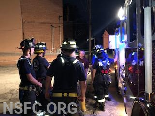 Asst Chief-C.Young, Lt's Harper, L. Kuseian & J. Certo, FF's M. Cottone, K. Robinson, J. Everlof, D. Gilronan, Y. Tobaje and FF J. Bail attended the training this evening.