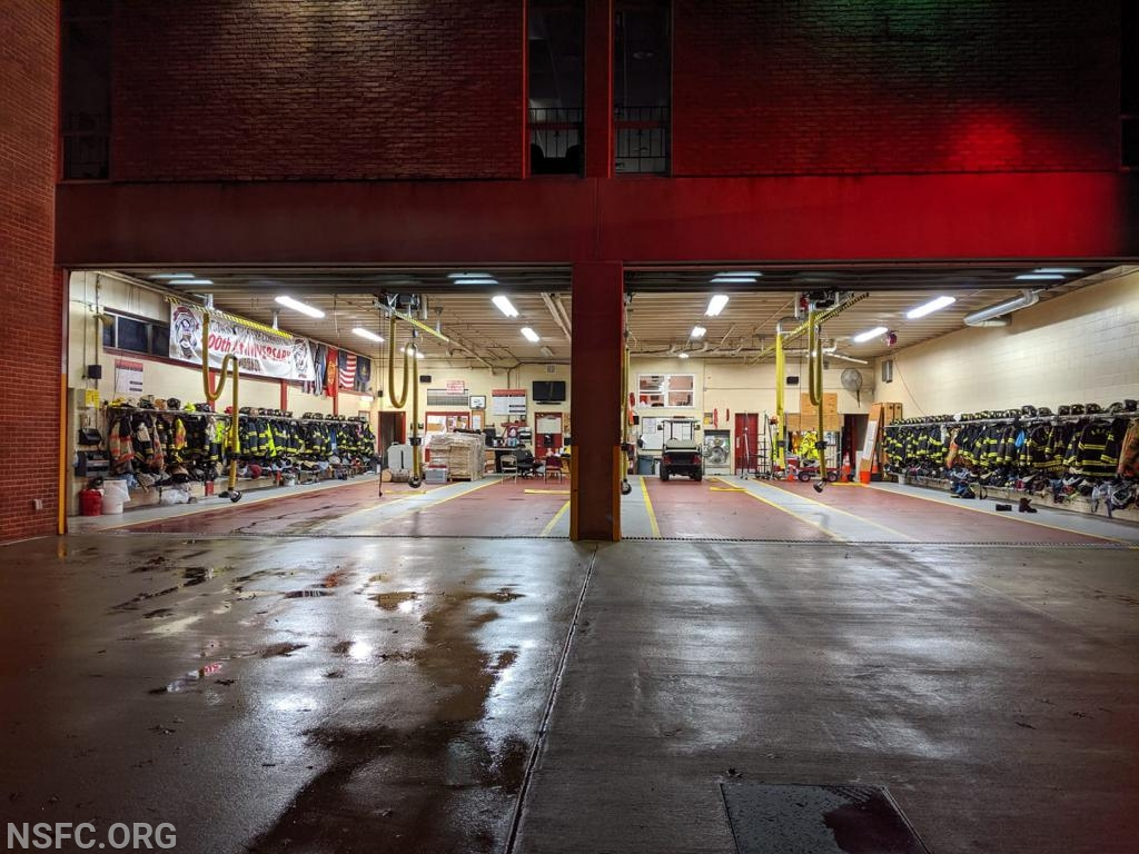 At times, the entire firehouse was empty!